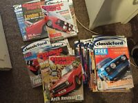 Classic Ford magazine - various issues, 43 total