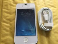 iPhone 4 8GB WHITE ( EE, ORANGE, T. MOBILE AND VIRGIN)