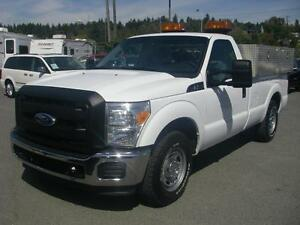 2011 Ford F-250 SD XL 2WD with Power Tailgate and Air Compressor