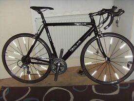 dolan preffisio 56cm road bike,alu/carbon foks,Tiagra 10 speed