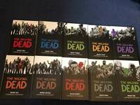 The Walking Dead Comic Books Volumes 1 to 10