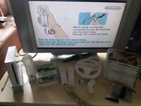 Nintendo Wii and tv bundle