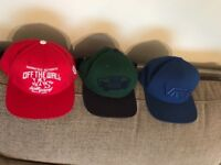 Vans snap back caps
