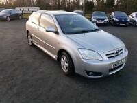 Toyota corolla 1.6L VVTI 5DR AUTOMATIC low mileage 1 owner long mot excellent condition