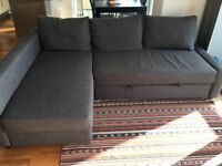Grey Sofa-bed - perfect condition!