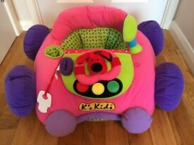 Giant sit-in soft car for babies