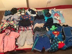 Huge bundle boys summer clothes inc ted baker/Rocha/Junior J/Next