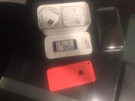 Iphone 5c pink 8 gb- vodafone