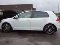 golf gt tdi 8000 miles gti r gtd as new 2014