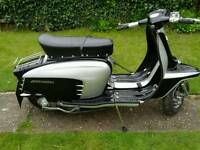 Lambretta TV175 with a 200 engine in...