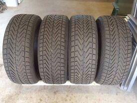 The Snow is Here! Winter Tyres x 4 - Vredestein Wintrac 4Xtreme 255/50 R19.