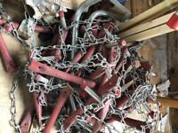 Chain ladder fire escape