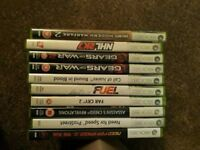 Set of Xbox 360 Games