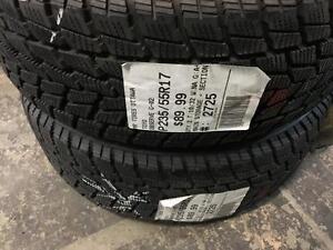 235/55/17 Toyo Obvserve G-02 Plus *Winter Tires*