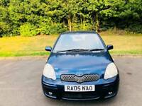 TOYOTA YARIS TSPIRIT 2005 5DOOR MOT TILL14/8/2019 13 SERVICES HPI CLEAR EXCELLENT CONDITION