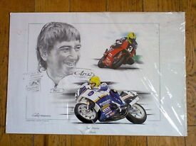 Joey Dunlop Limited Edition Print ( 240/500 )