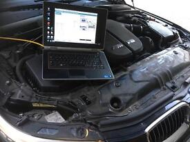 BMW and MINI diagnostic specialist Essex coding and programming. Vehicle maintenance and repair