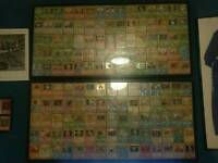 Original 150 pokemon cards first edition in 2 frames and others