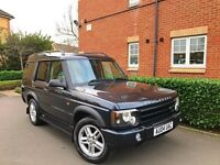 """2004 04 REG Land Rover Discovery 2 2.5 TD5 Landmark 5dr (7 Seats) """" HPI CLEAR """""""