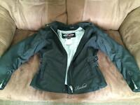 Woman's L bike jacket like new only worn once