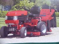 """Westwood T1800 tractor mower 36"""" mulching deck and grass collector and trailer and four tyres"""