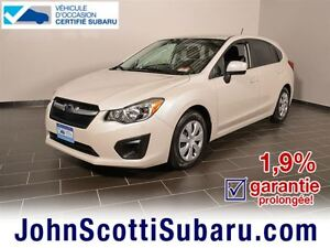 2012 Subaru Impreza 2.0i 1.9% 8 PNEUS