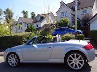SUMMER/AUTUMN SALE!! (2004) AUDi TT Roadster Quattro 1.8T 225 BHP FREE DELIVERY/MOT 1 YR/TAX/FUEL