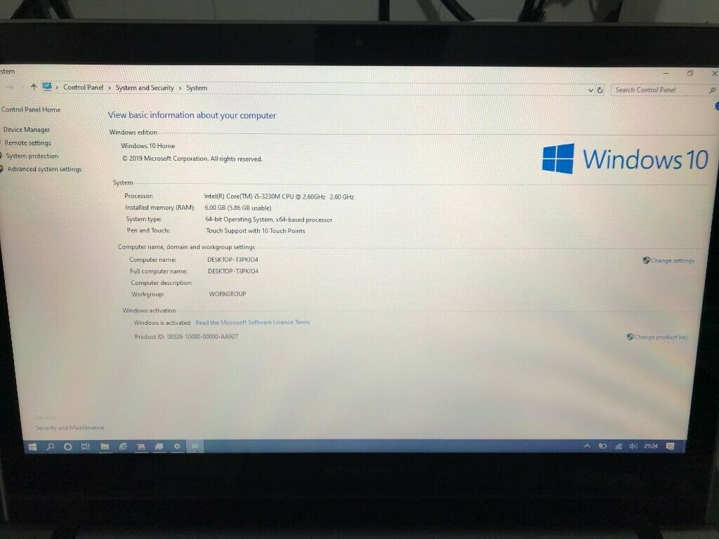 Lenovo Z500 Touch Screen i5 6GB Windows 10 Laptop | in Bournemouth, Dorset  | Gumtree