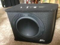 Vibe slr12 series subwoofer and amplifier
