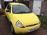 Ford ka 1299cc 2001 special edition millennium 3 door hatch mot March limited edition