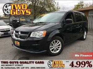 2016 Dodge Grand Caravan SXT DVD ALLOYS PWR SLIDERS/TAILGATE