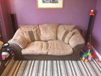 2 Pce Sofa inc Sofa Bed