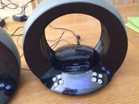 JBL On Time Docking Station /Speaker / Alarm clock with snooze,