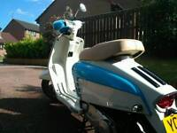 Lambretta LN 125, low miles, like new