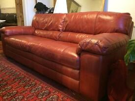 Beautiful world of leather sofas in great used condition 2x3 Seaters