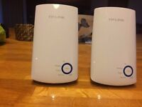 TP-Link 300Mbps Universal WiFi Range Extender Booster (PAIR)