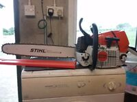 Stihl ms 461 chainsaw 2015.