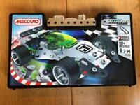 Meccano metal construction car