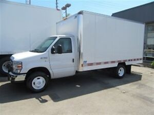 2012 Ford E-450 CUBE VAN GAS WITH 14 FT ALUM BOX