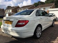 Mercedes Benz C CLASS 2.1 C220 CDI ELEGANCE EDITION 125 - MAHOGANY INTERIOR - FSH - swap Audi/Bmw?