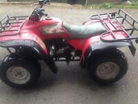 Honda Big Red 350cc 4x4
