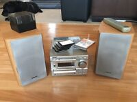 Sony mini disc, cd and radio stereo system