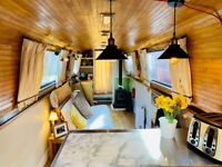 Beautiful 57ft Narrow Boat for sale on permanent Zone 1 London Mooring (Hoxton)