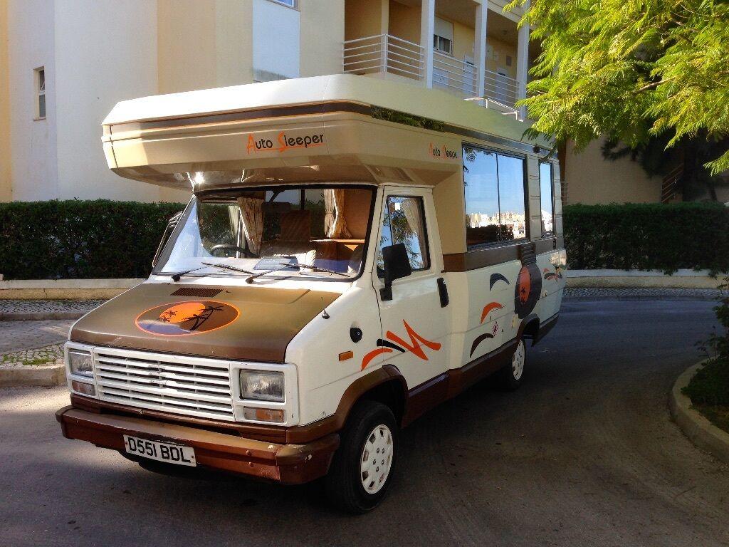 Auto Sleepers For Sale Gumtree: Talbot Express Autosleeper Motorhome Campervan