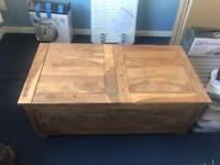 John Lewis storage chest