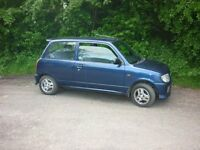 2001 daihatsu cuore custom 1.0L rare car not many about