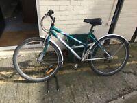 Bike and Bike Lock