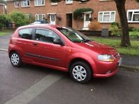 Chevrolet Kalos 1.2 S 3dr, very low mileage, 3 owners, MOT and Serviced