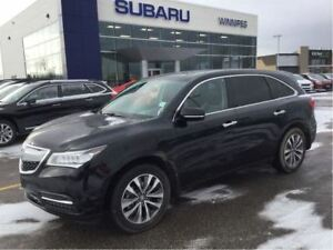 2015 Acura MDX Tech Pkg, leather, AWD, DVD