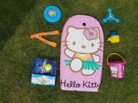 Hello Kitty Body board & beach toys